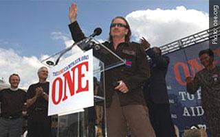 ONE Campaign - Bono