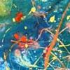 Painting by Rachel Golub