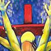 Yellow Christ by Eric Needle